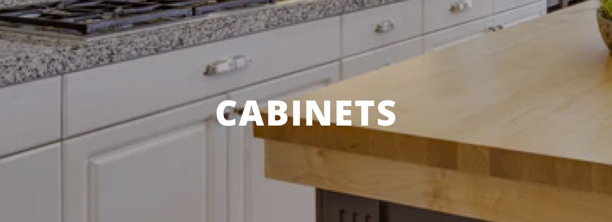 Cabinets - White cabinets in kitchen