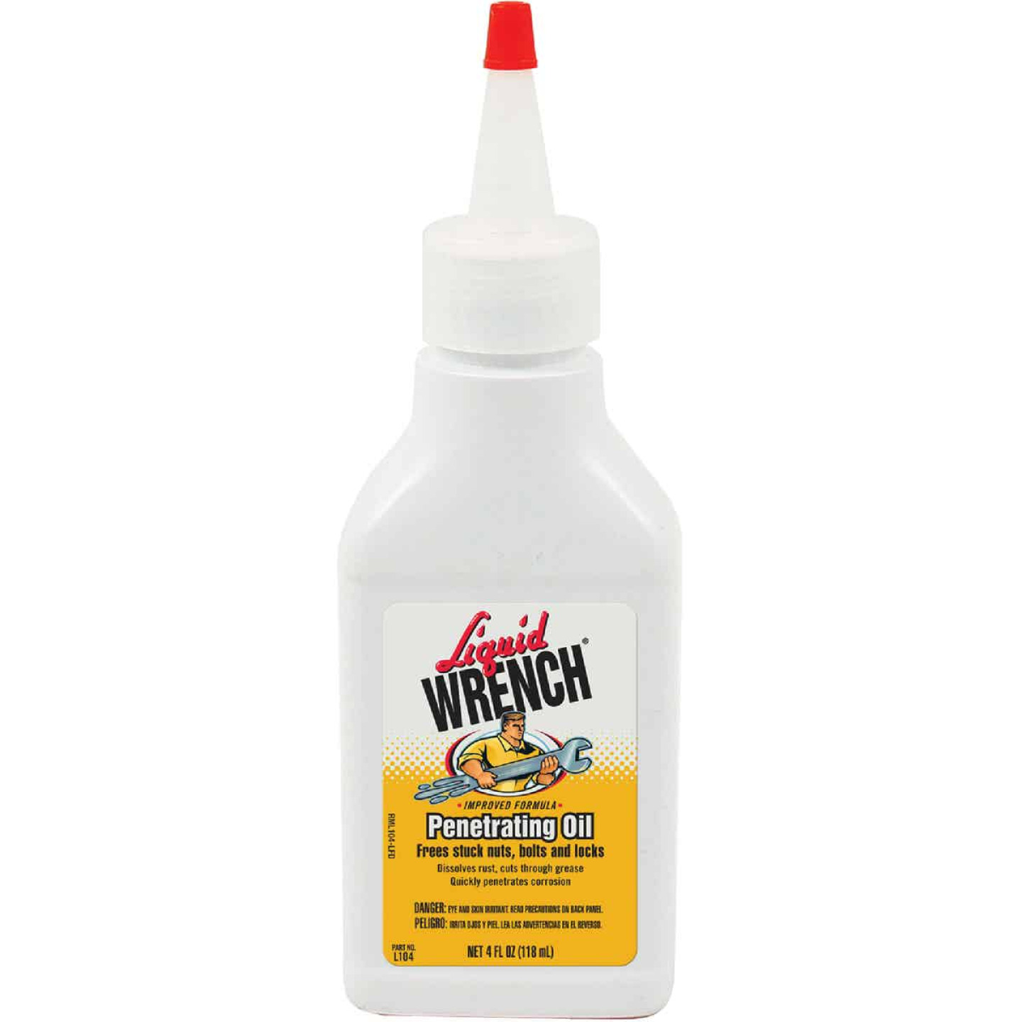 Liquid Wrench 4 Oz. Liquid No. 1 Penetrant Image 1