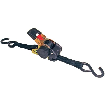 Erickson 1 In. x 10 Ft. 1200 Lb. Retractable Ratchet Strap (2-Pack)