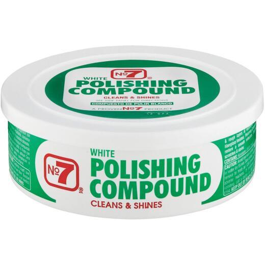 NO. 7,  10 oz Paste White Polishing Compound
