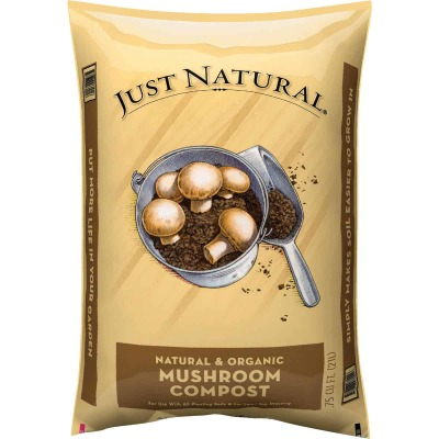 Just Natural 0.75 Cu. Ft. Mushroom Compost