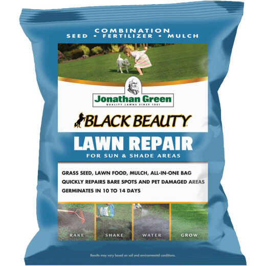 Jonathan Green 4.5 Lb. 100 Sq. Ft. Coverage Black Beauty Ultra Grass Patch & Repair