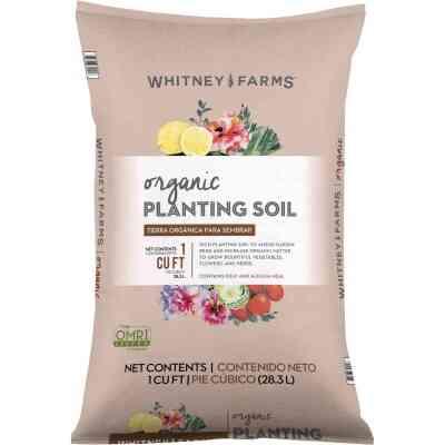 Whitney Farms 1 Cu. Ft. 31 Lb. All Purpose Organic Garden Soil