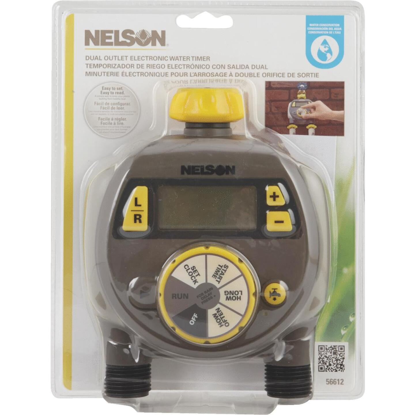 Nelson Electronic Dual Outlet Watering Timer Image 5