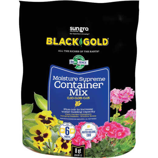 Black Gold Moisture Supreme 8 Qt. 6 Lb. Container Potting Soil