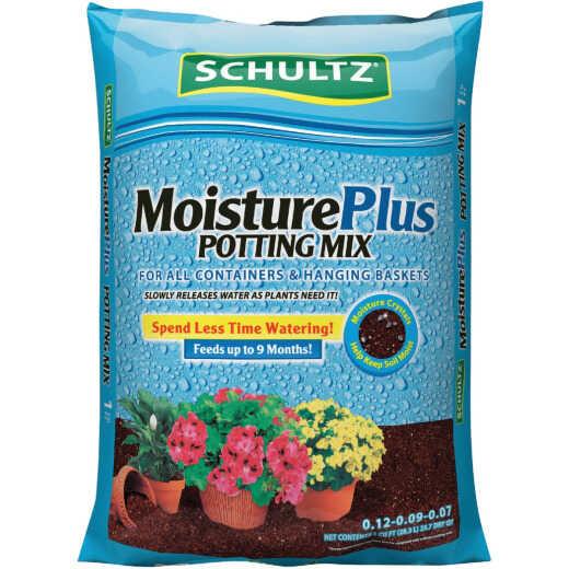 Schultz MoisturePlus 1 Cu. Ft. All Purpose Containers & Hanging Baskets Potting Soil Mix