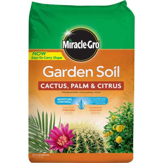 Miracle-Gro 1.5 Cu. Ft. 49 Lb. Cactus, Palm, Citrus Garden Soil
