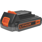 Black & Decker 20V MAX 2.0 Ah Tool Replacement Battery Image 1