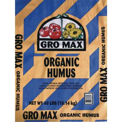 Gro Max 40 Lb. 4 Sq. Ft. Coverage Humus & Manure