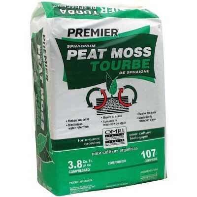 Premier 62 Lb. 3.8 Cu. Ft. Compressed Bale Sphagnum Peat Moss