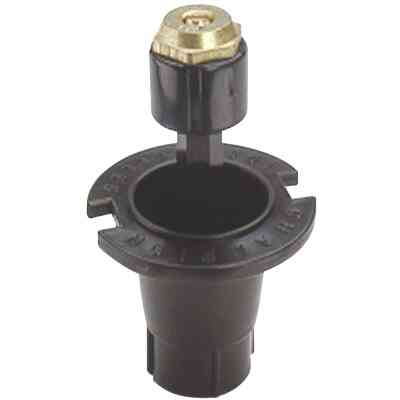 Champion 1.25 In. Full Circle Deluxe Plastic Pop-Up Sprinkler with Brass Nozzle