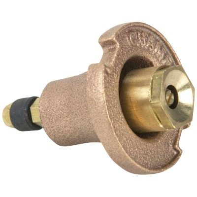 Champion 1.25 In. Full Circle Brass Pop-Up Sprinkler with Brass Nozzle