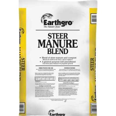 Earthgro 29 Lb. 1 Cu. Ft. 6 Sq. Ft. Coverage Steer Manure