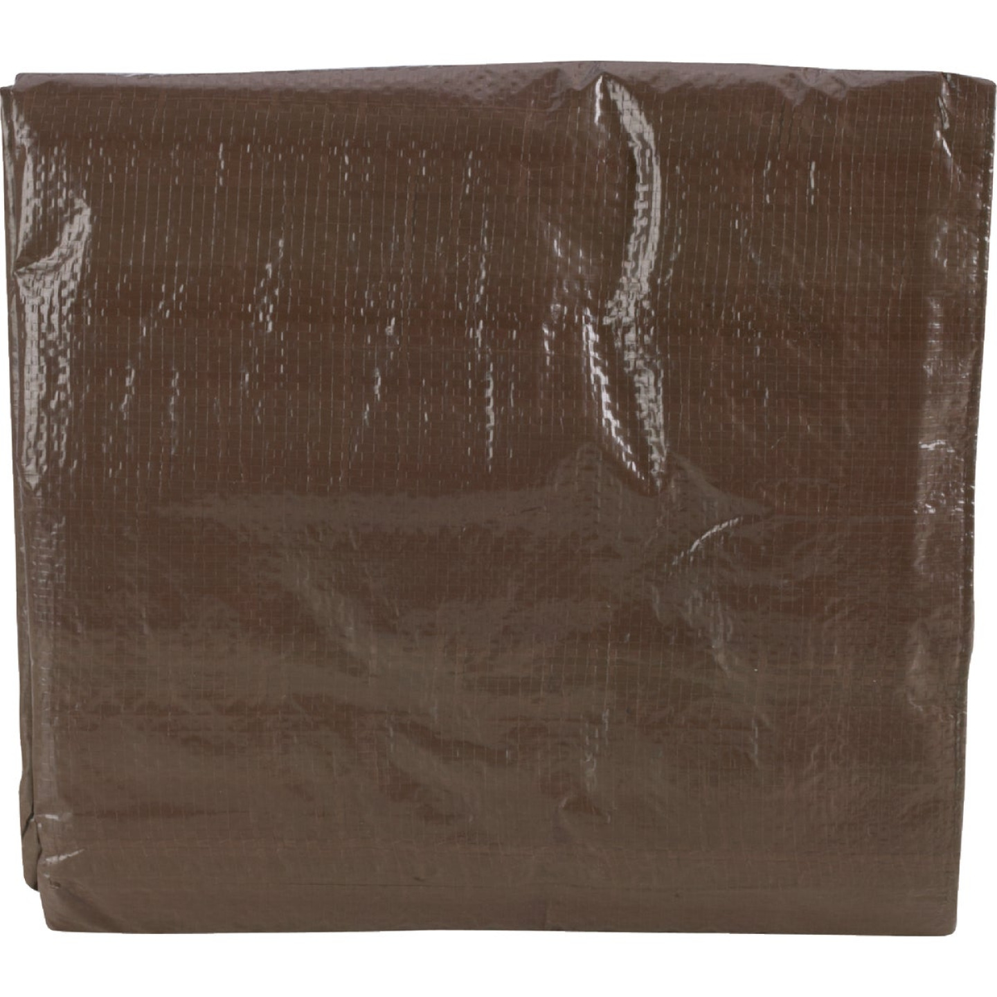 Do it Best 1 Side Green/1 Side Brown Woven 8 Ft. x 10 Ft. Medium Duty Poly Tarp Image 7