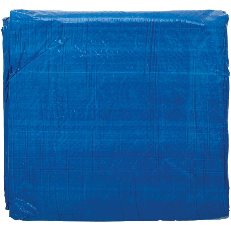 Do it Best Blue Woven 16 Ft. x 20 Ft. General Purpose Tarp Image 2