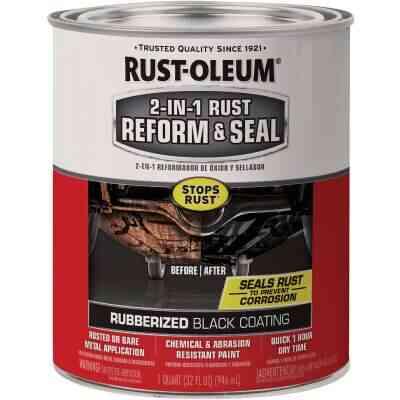 Rust-Oleum 1 Quart Liquid 2-In-1 Reform & Seal Rubberized Auto Undercoat