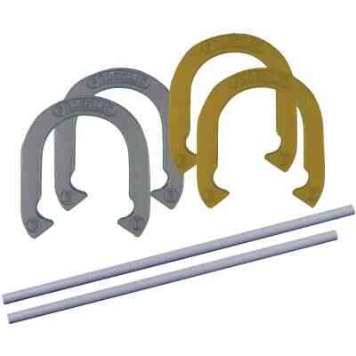 Franklin 24 In. Steel Official Size Family Horseshoe Set